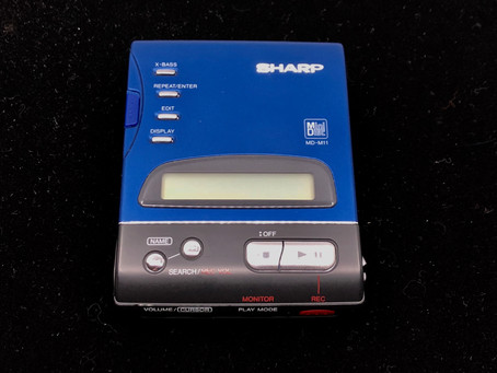 Sharp MD-M11 Blue MD Recorder