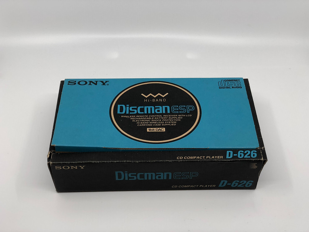 Sony D-626 Wireless Discman