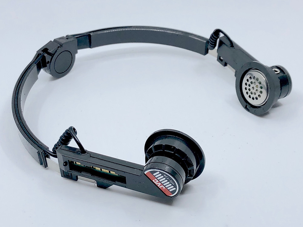 JVC CQ-R10K FM/AM Headphone Radio