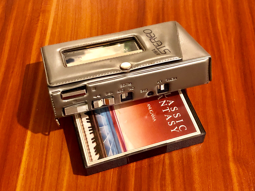 Aiwa HS-P1 Portable Cassette Player