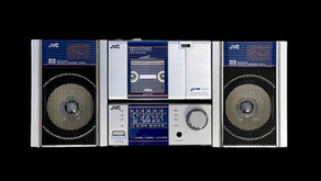 JVC PC100 Mini Stereo System