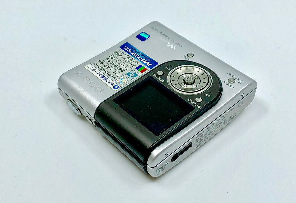 Sony MZ-DH10P Hi-MD Recorder