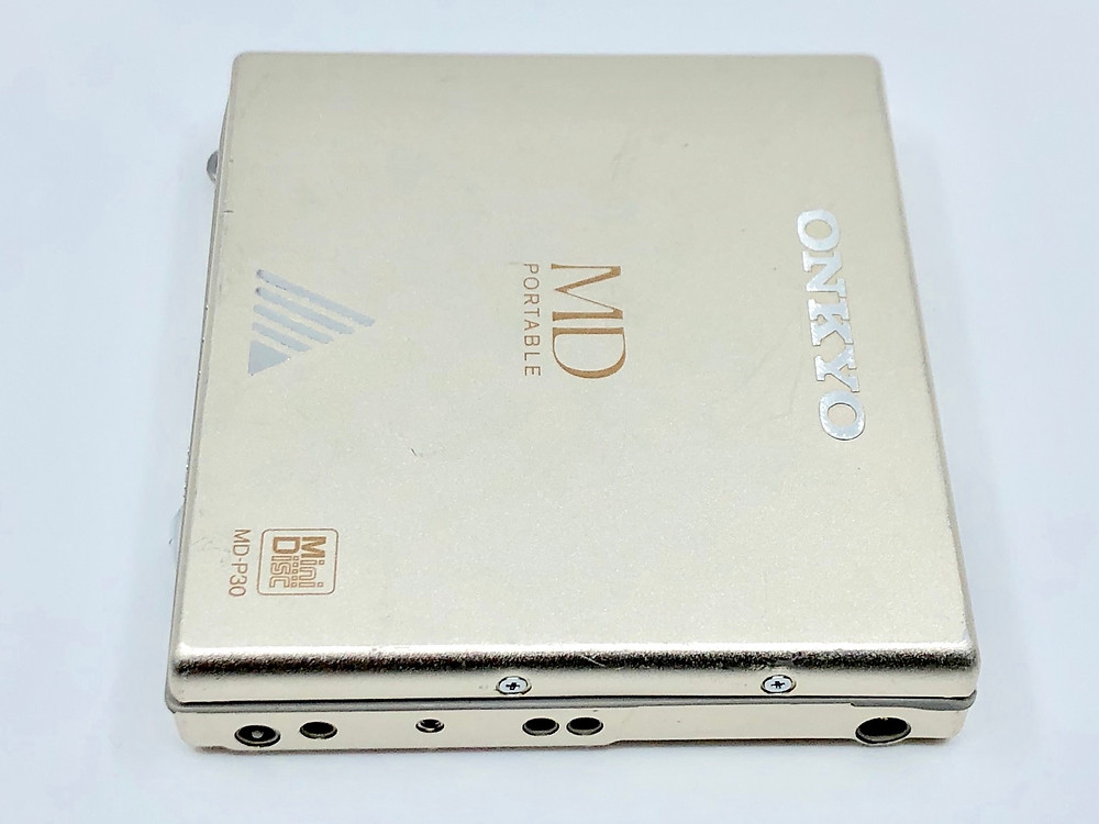 Onkyo MD-P30 Champagne MiniDisc Player