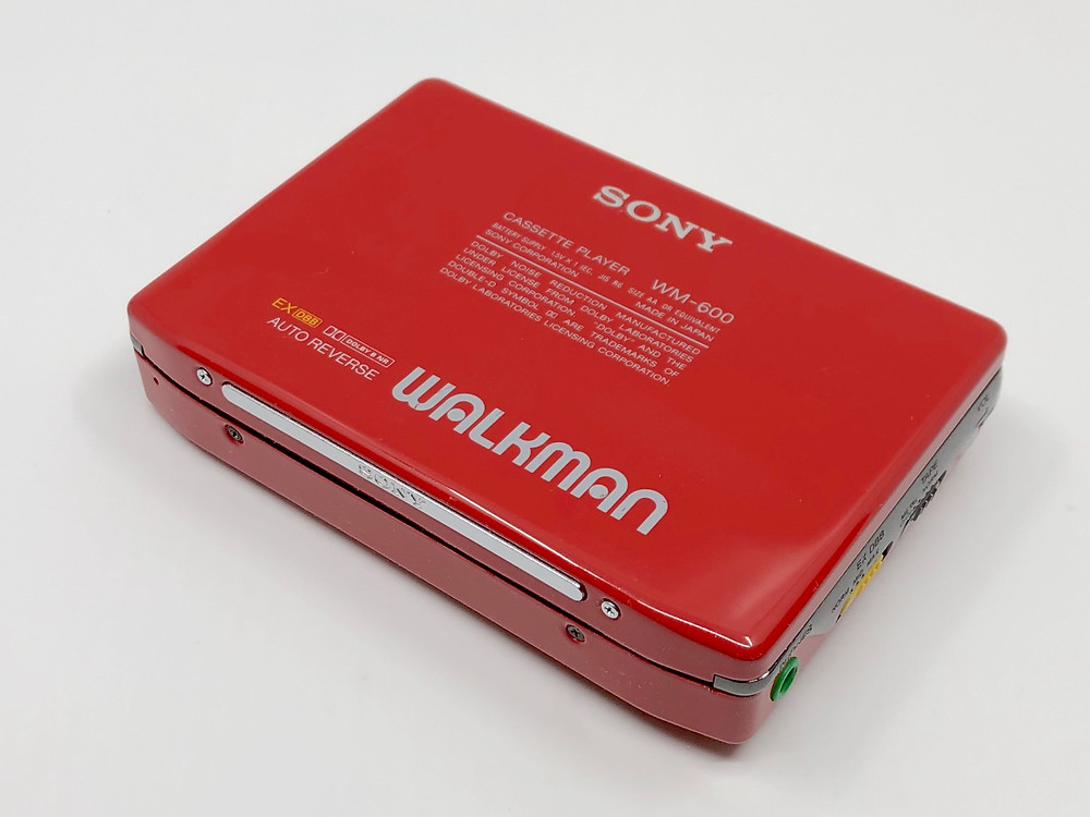 Sony WM-600 Red Walkman