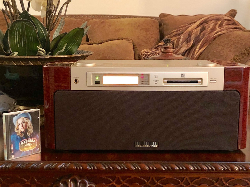 Sony Celebrity 7000 MD CD Player