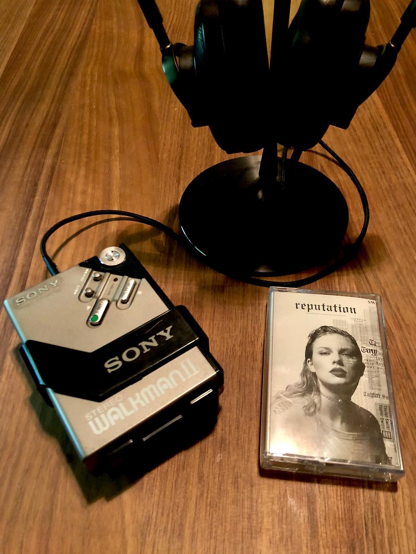 Sony Walkman WM-2 Gray Cassette Player