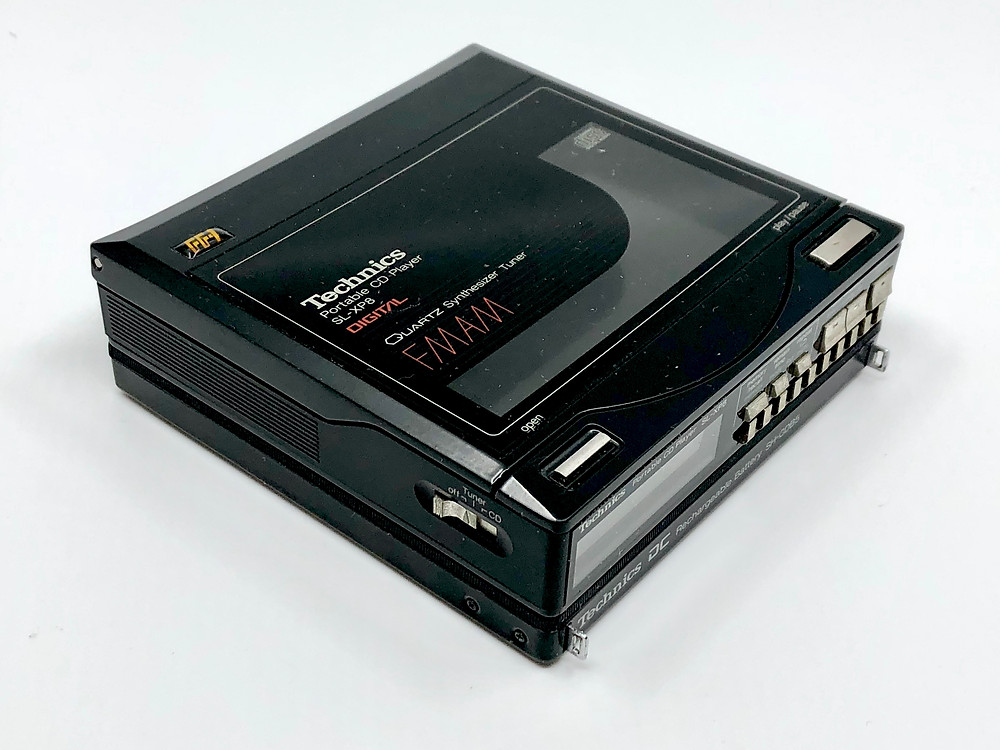 Technics SL-XP8 Very Rare Portable CD Player