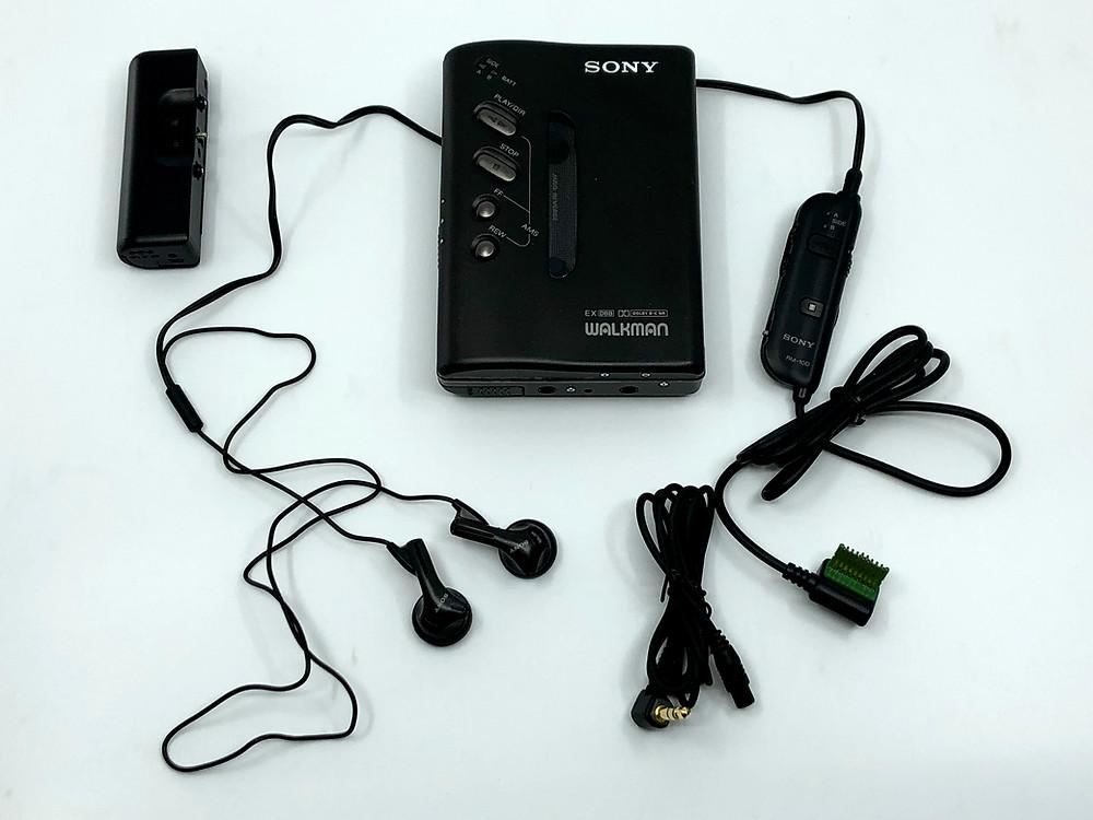 Sony Walkman WM-DX100 Black Portable Cassette Player