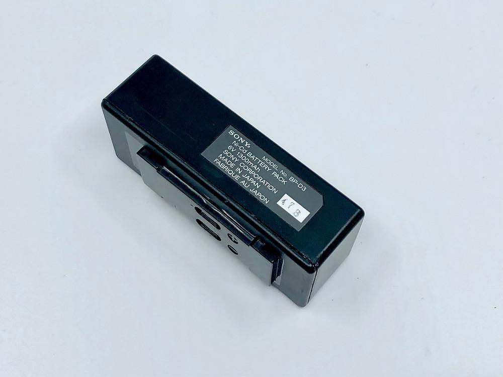 SONY TCD-D3 Battery