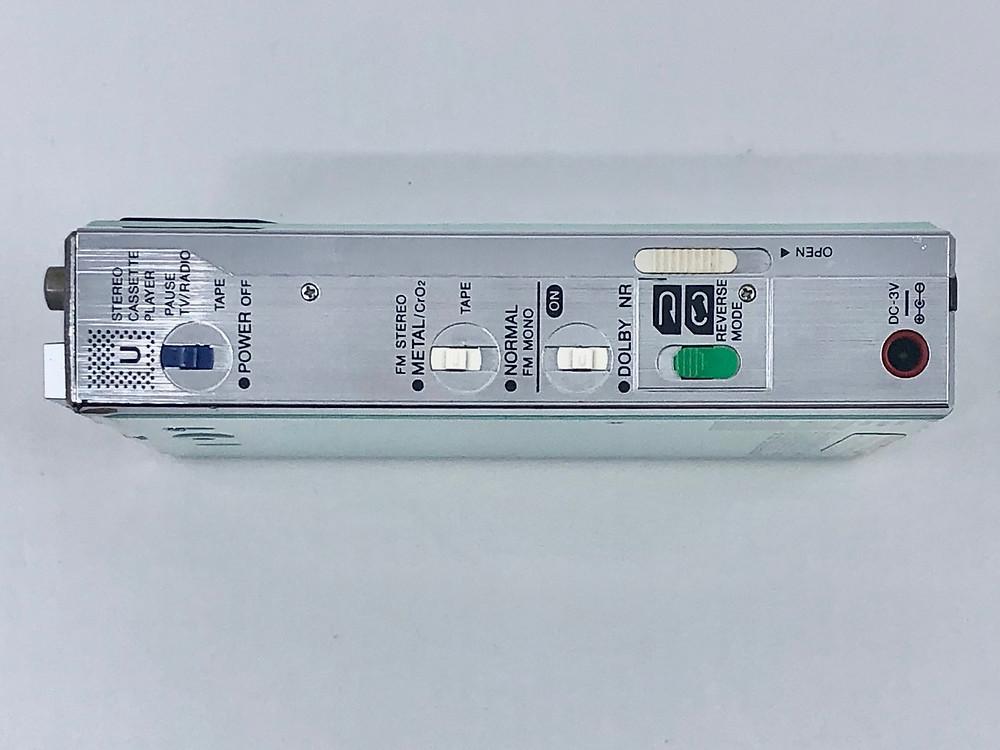 Aiwa HS-U7V CassetteBoy Aqua Portable Cassette Player