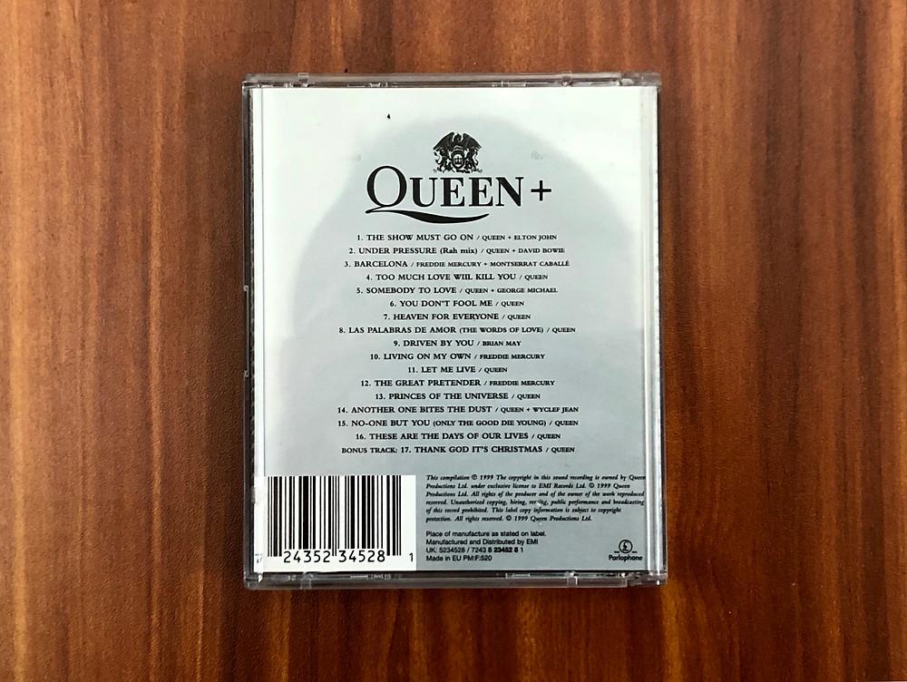 Queen Greatest Hits III MiniDisc Album