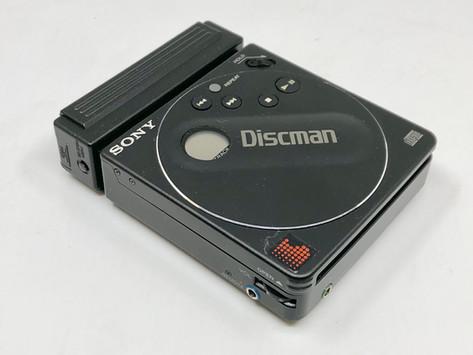 Sony Discman D-88 Portable CD Player