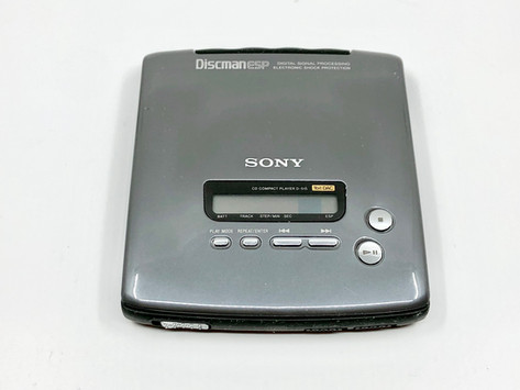 Sony Discman D-515 Portable Compact Disc Player