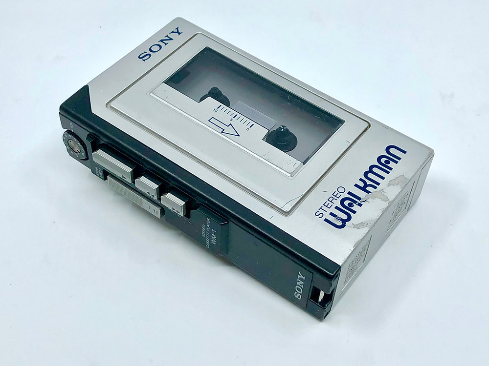 Sony Walkman WM-1 Portable Cassette Player