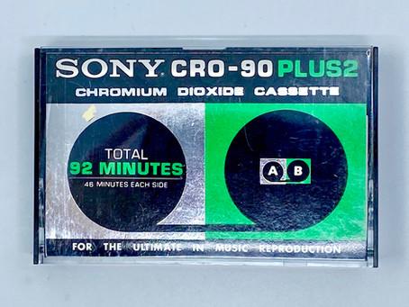 Sony CRO90 Cassette Tape