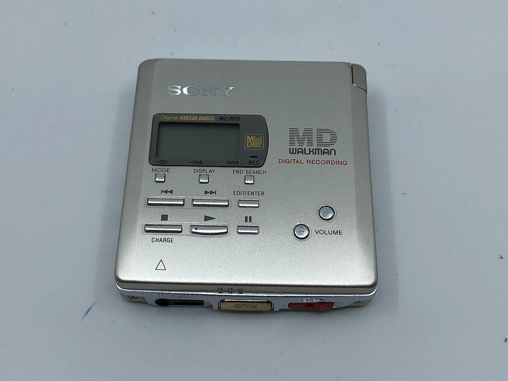 Sony MZ-R55 Silver MD Recorder