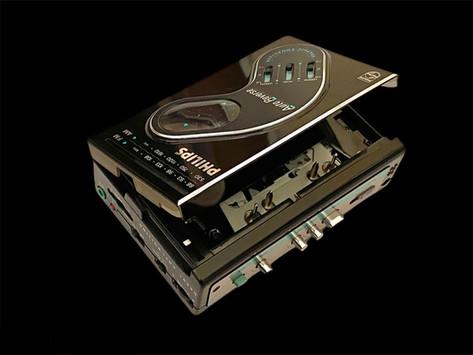 Philips Portable Cassette Player