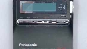 Panasonic SJ-MR240 Black MiniDisc Recorder