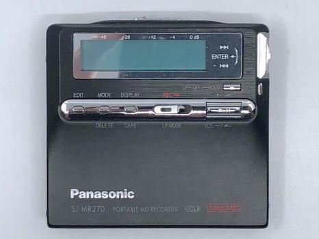 Panasonic SJ-MR240 Black MiniDisc Recorder