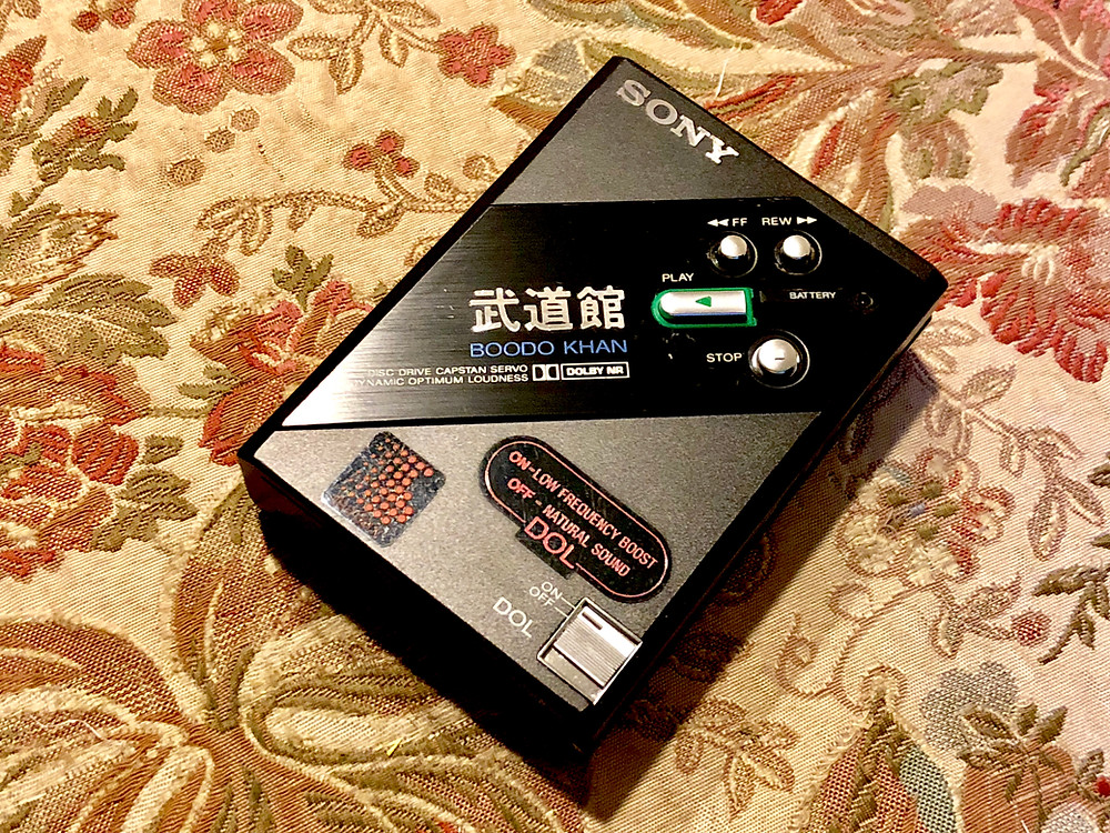 Sony Walkman Boodo Khan 武道館 DD-100 Portable Cassette Player
