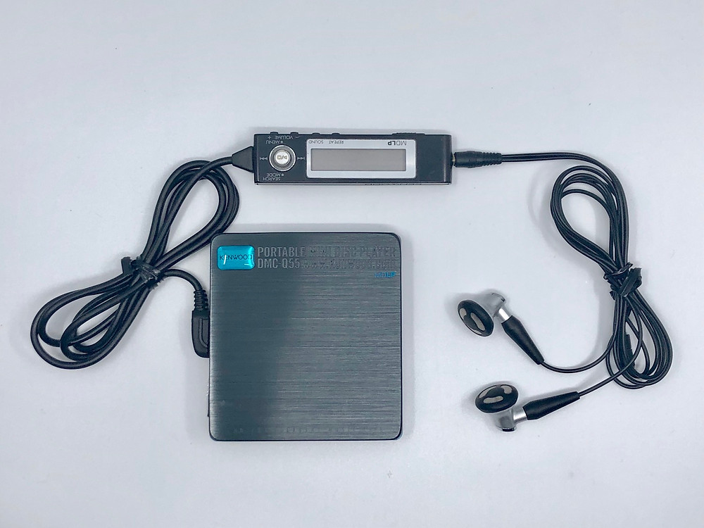Kenwood DMC-Q55 MiniDisc MD Player