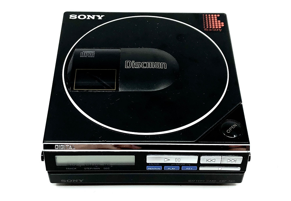 Sony Discman D-50MKII Portable CD Player