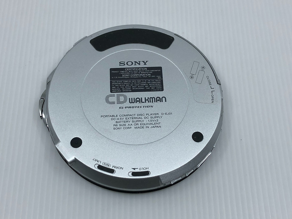 Sony CD Walkman D-EJ01 Portable CD Player