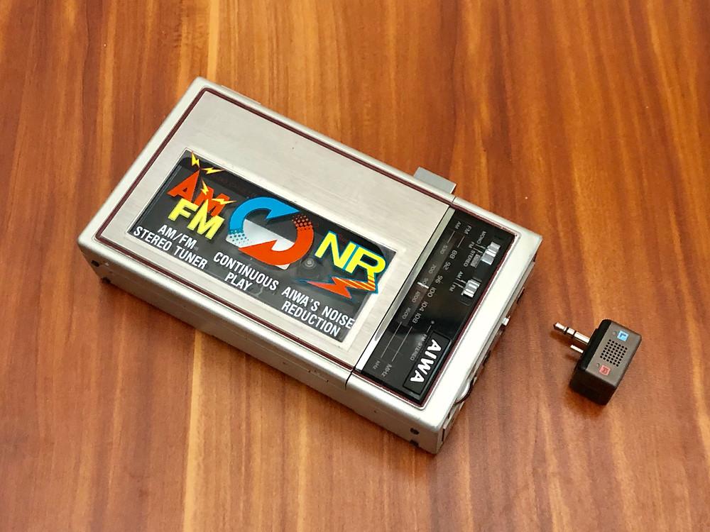 Aiwa HS-J02 Portable Cassette Recorder