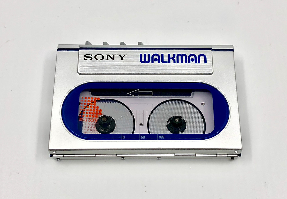 Sony Walkman WM-20 Blue Portable Cassette Player