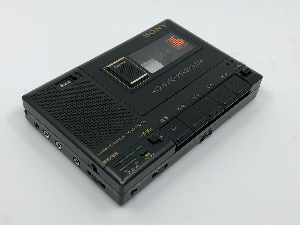 Sony TCM-1000A Portable Cassette Recorder