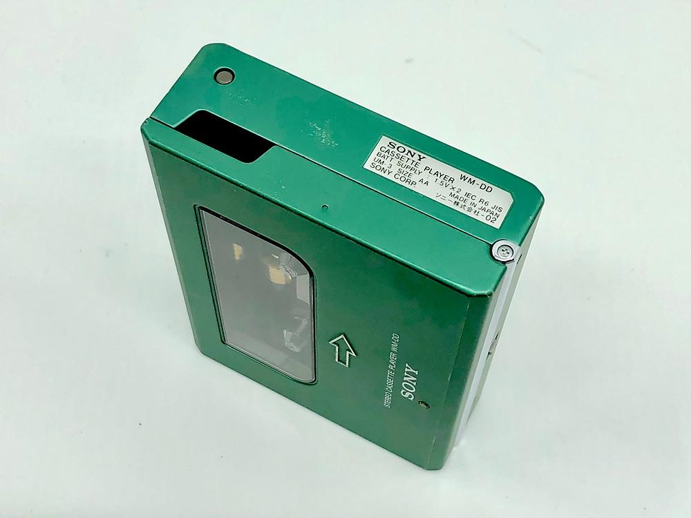 Sony Walkman WM-DD Green Portable Cassette Player