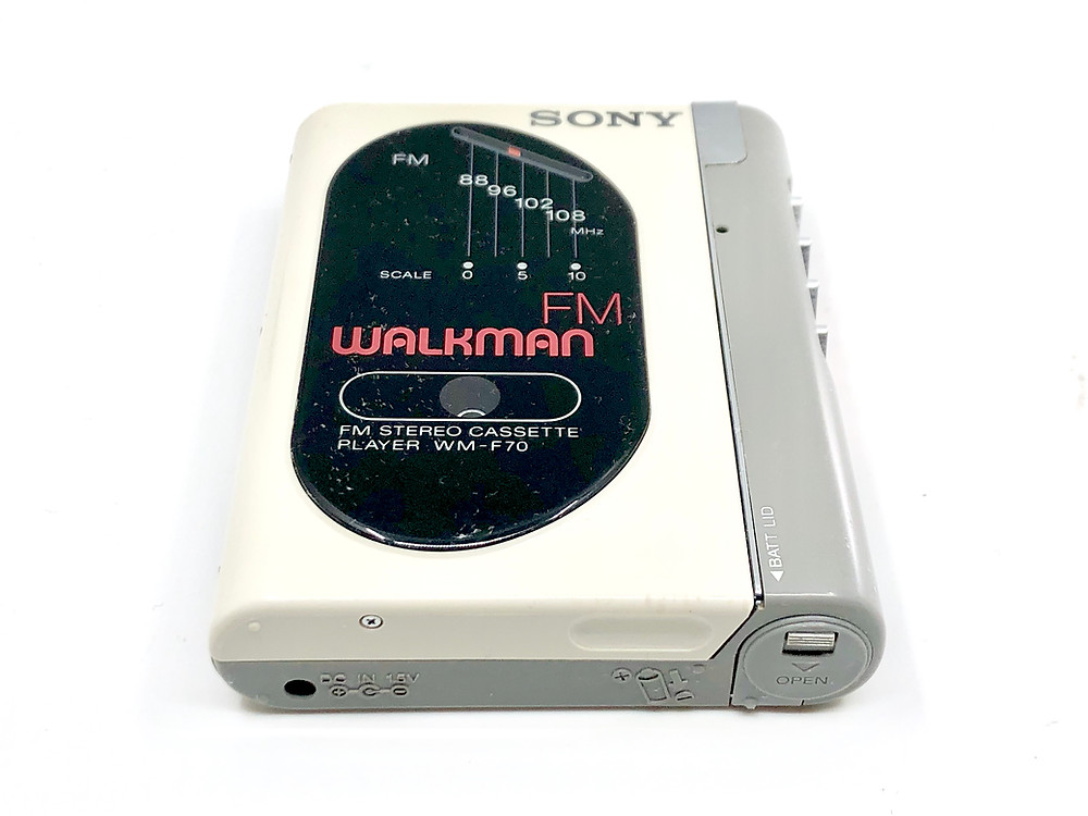 Sony Walkman WM-F70 Portable Cassette Player