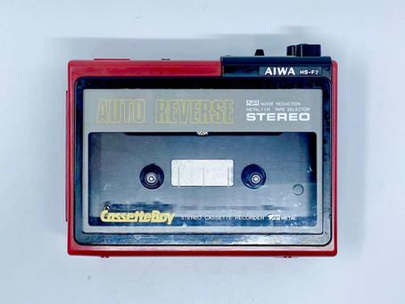 Aiwa HS-F2 CassetteBoy Stereo Cassette Recorder