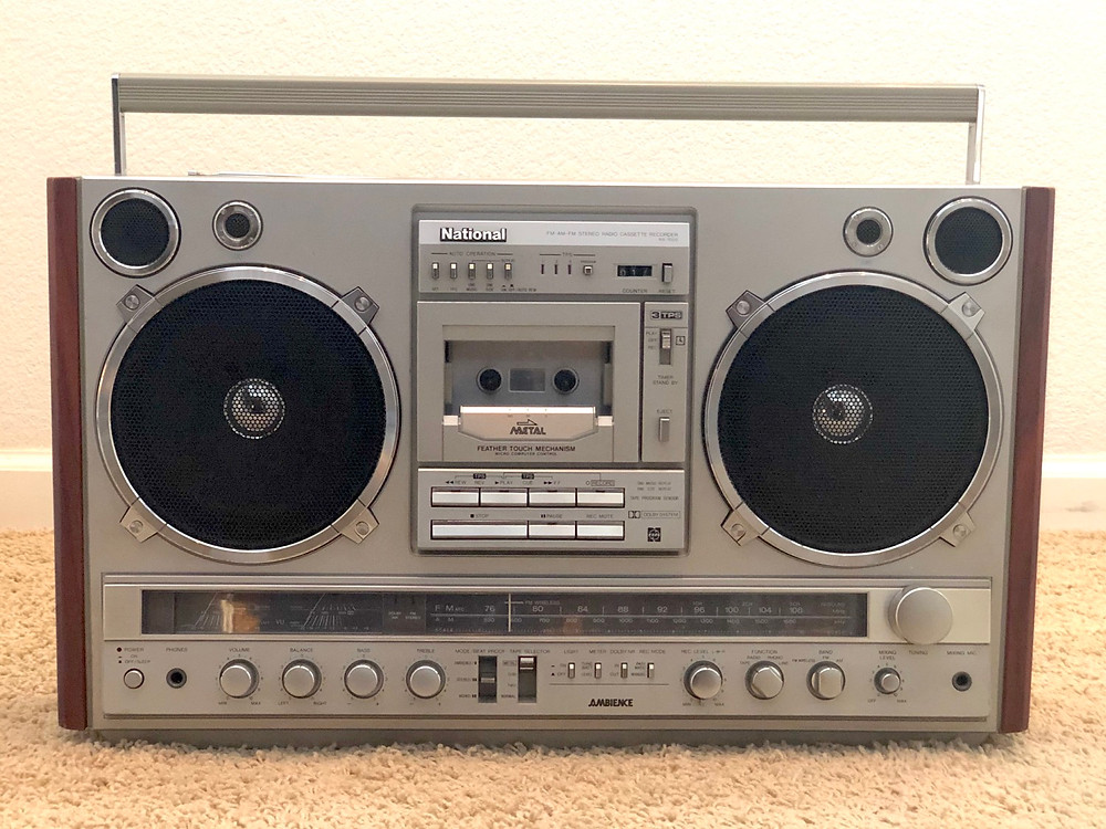 Panasonic National RX-7000 Boombox