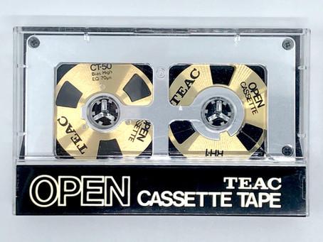 Teac Open Cassette Tape CrO2 Type II