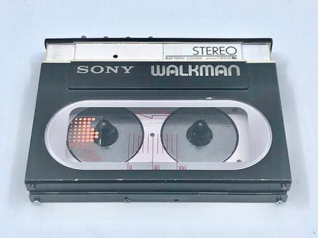 Sony Walkman WM-20 Black Portable Cassette Player