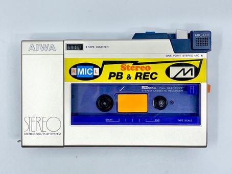 Aiwa HS-F1 CassetteBoy Stereo Cassette Recorder