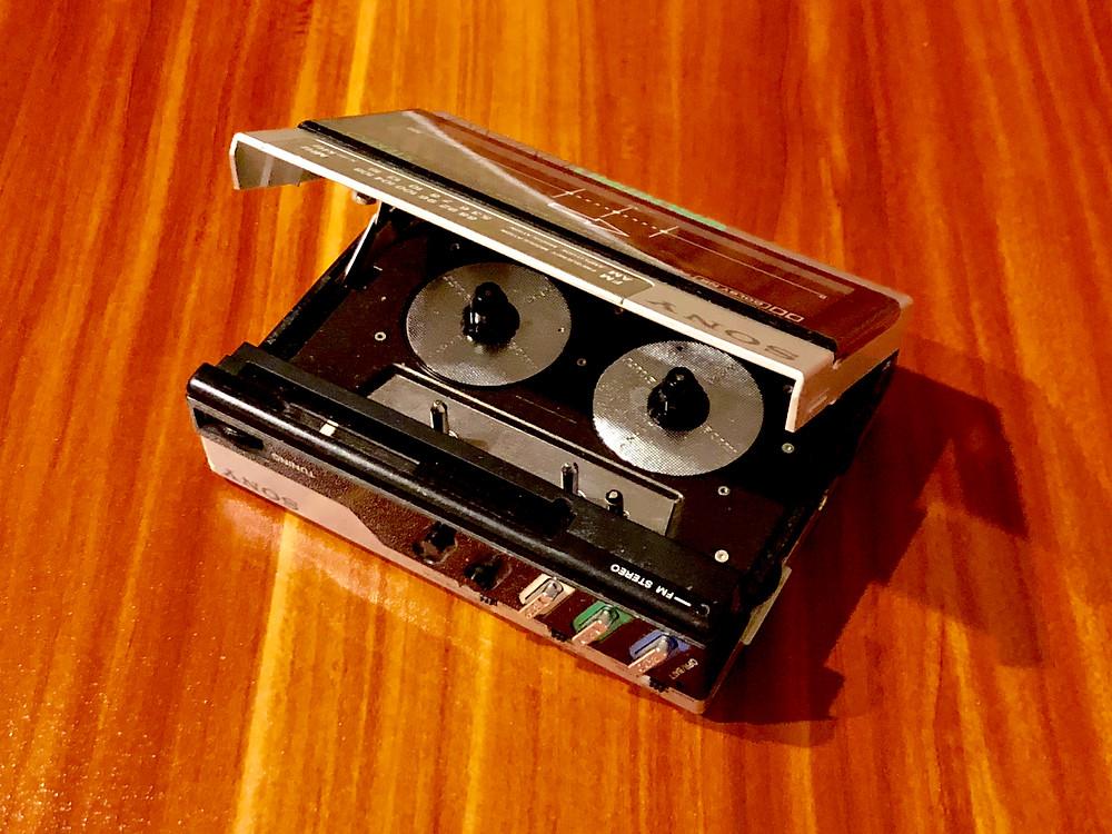 Sony Walkman WM-F15 Cassette Player