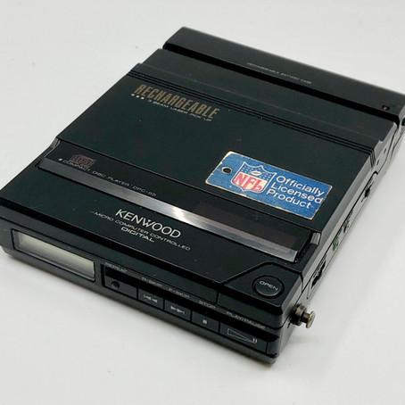 Kenwood DCP-55 Black Portable CD Player