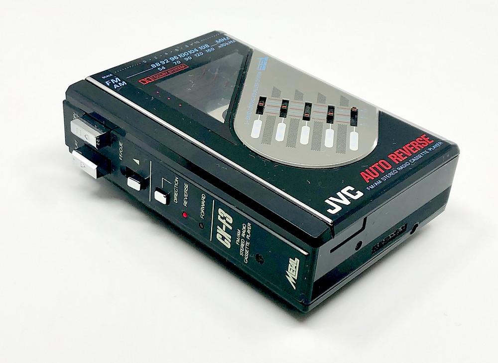 JVC CX-F3K Portable Cassette Player