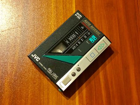 JVC CX-F7K Portable Cassette Player