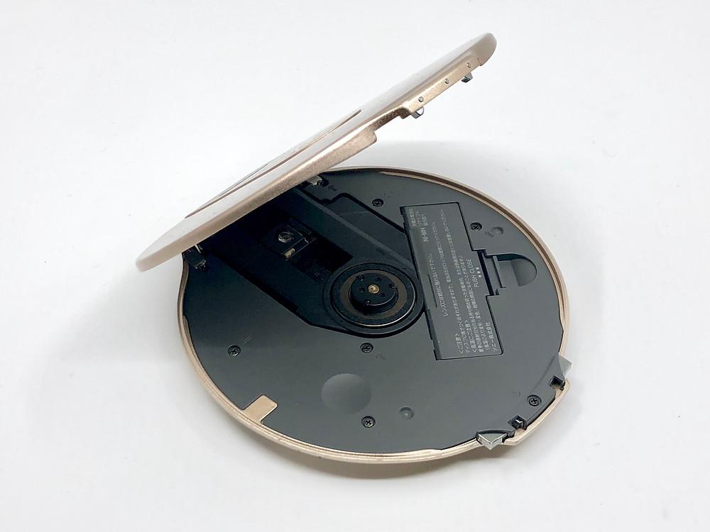 Sony CD Walkman D-NE10 Gold Portable CD Player
