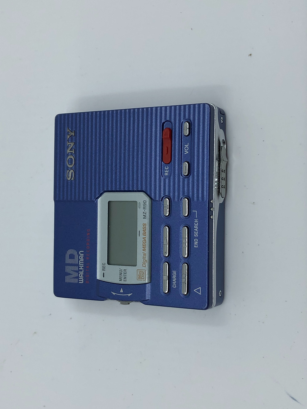 Sony MZ-R90 Blue MD Recorder