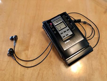 Aiwa HS-JX303 Portable Cassette Player