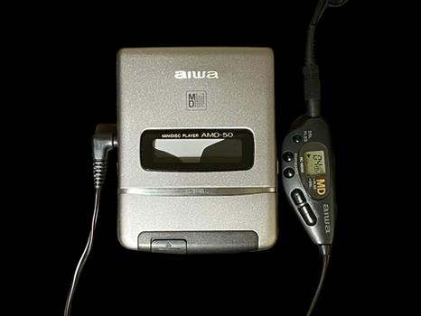 Aiwa AMD-50 MiniDisc Player