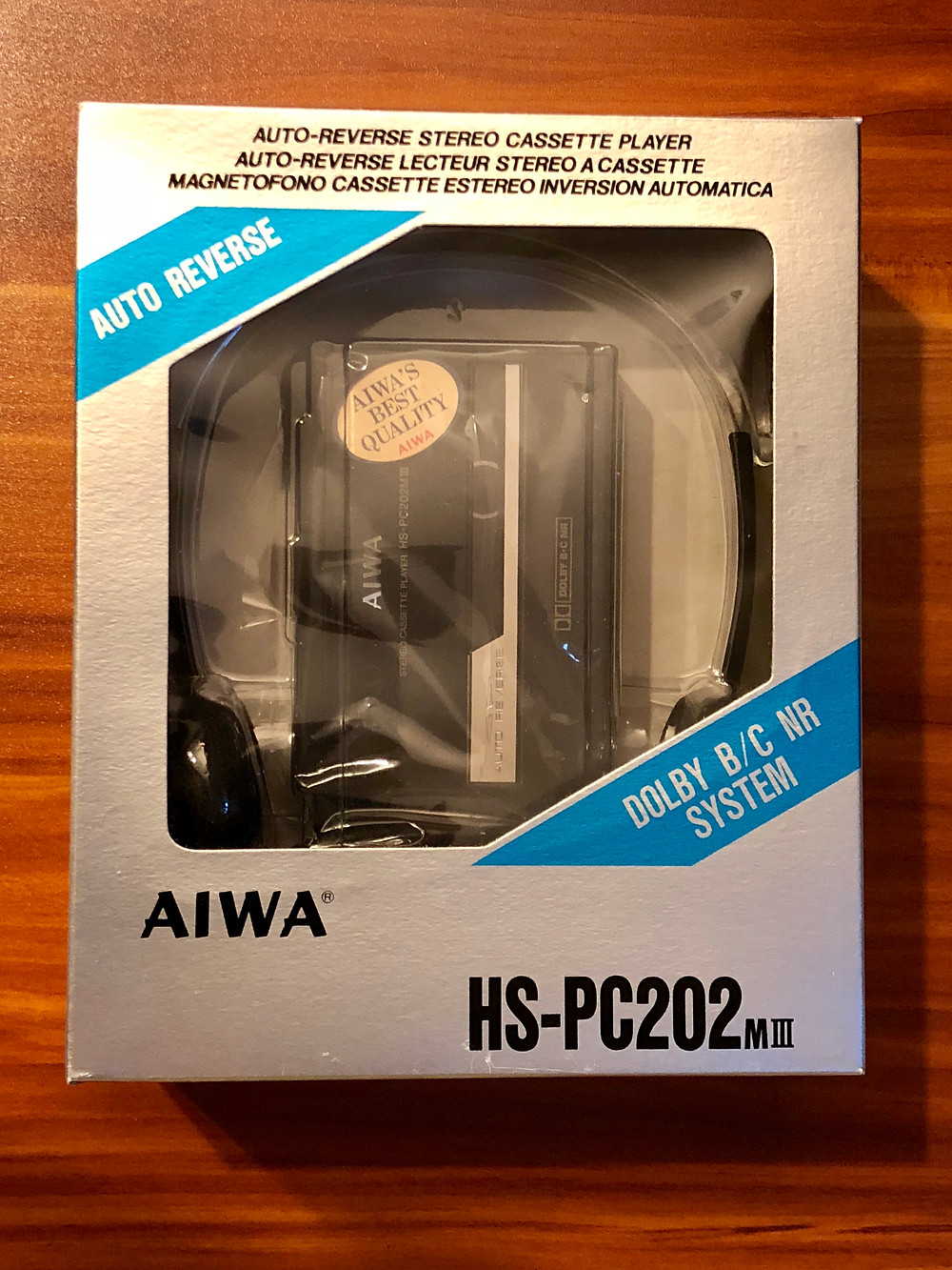 Aiwa HS-PC202MKIII Portable Cassette Player