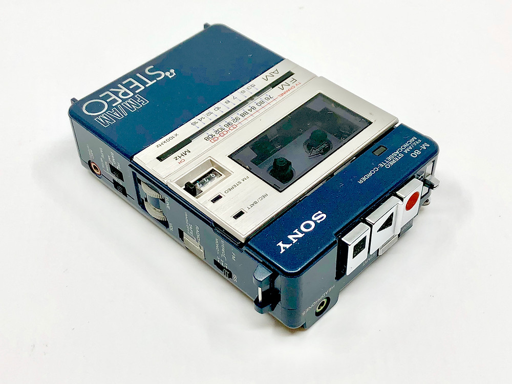 Sony M-80 Micro-Cassette Recorder