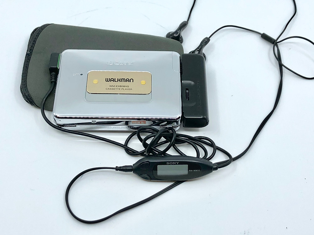 Sony Walkman WM-EX808HG Portable Cassette Player