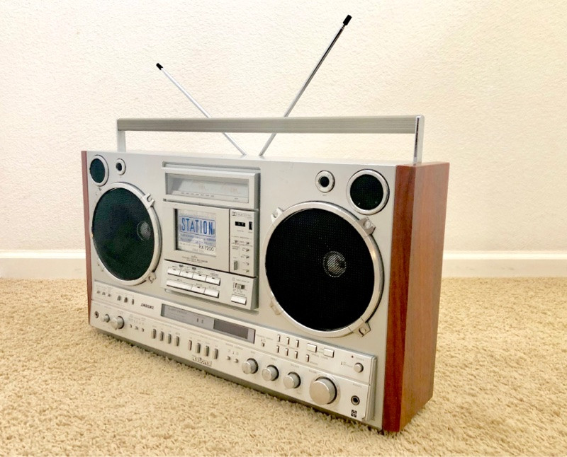 National RX-7200 boombox
