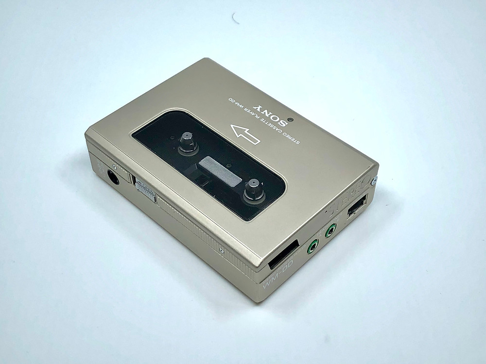 Sony Walkman WM-DD Silver Portable Cassette Player